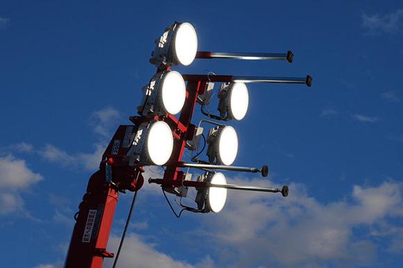 LED投光器の実力