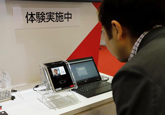 「顔認証」通門管理システム