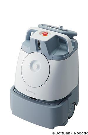 ソフトバンクロボティクスのAI清掃ロボット