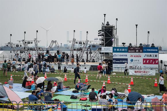 今年38回を迎えた横浜開港祭、メイン会場