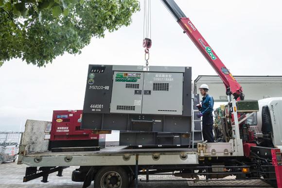 イベント用のサイマール発電機