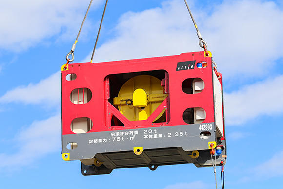 吊荷旋回制御装置「ジャイロマスター」