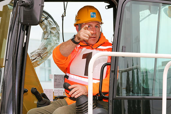 アメリカでは指差しによる安全確認は行わないとのことだが、日本で学んだことは非常に多く、今後の業務に活かしたいとのことだった。