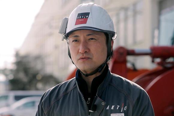北海道工場 業務主事 高橋健太