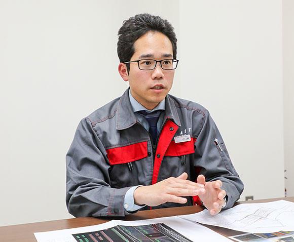 話を聞いたアクティオ 技術部 企画計画課 小林賢甫