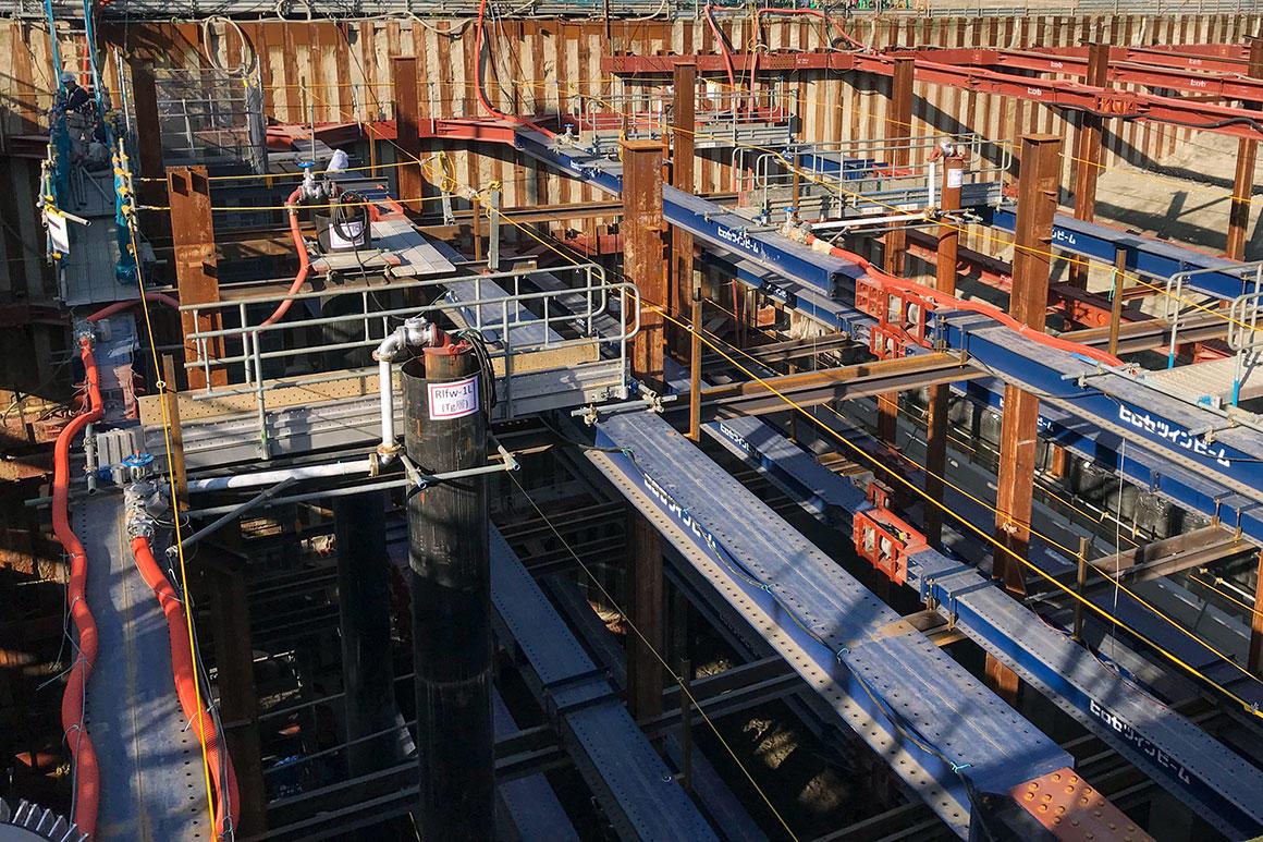 工事現場の排水制御を見える化
