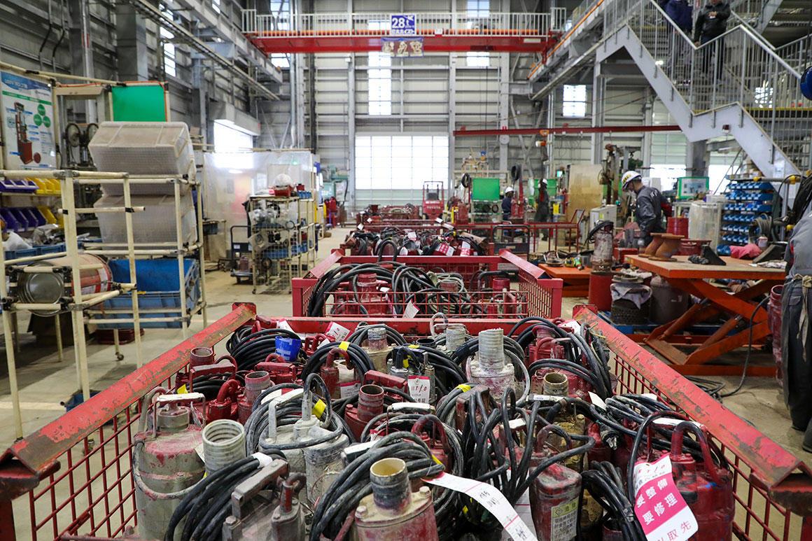 三重いなべテクノパーク統括工場紹介【2/3】水中ポンプやインフラ関係の機械も整備