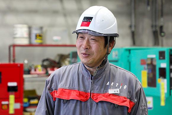 統括工場長 名古屋支店業務部長の長尾勝徳