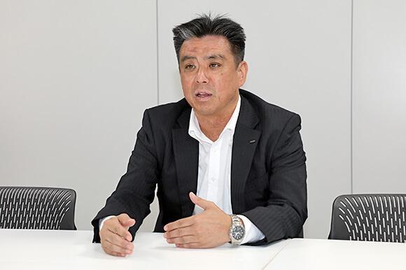営業企画部 片桐真人部長