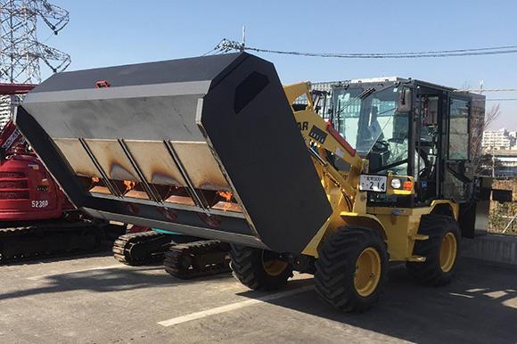 路面乾燥車(熱風送風型、ヤンマー)