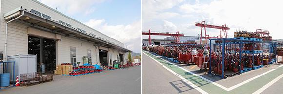 水中ポンプ広域センターでは、東日本エリアで運用している7万基の水中ポンプ(19kW以下)を分解・整備・検査し、管理している