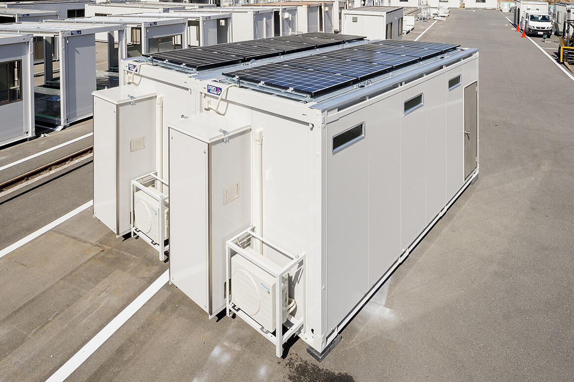 電力を自給自足し脱炭素社会に貢献する「オフグリッドハウス」を開発