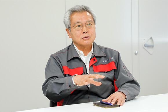 エンジニアリング事業部 技術部 高橋和夫専任部長