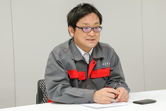 エンジニアリング事業部 通信計測部 船橋晃祐専任課長
