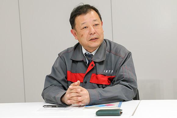 エンジニアリング事業部 土木部 内ケ島琢磨副部長