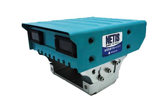 EagleEye®Ⅱのカメラ本体。画像処理や学習機能などをつかさどる中枢機能を全て本体内に備えている。また、NETISの登録商品である(NETIS登録番号 : KK-200027-A)
