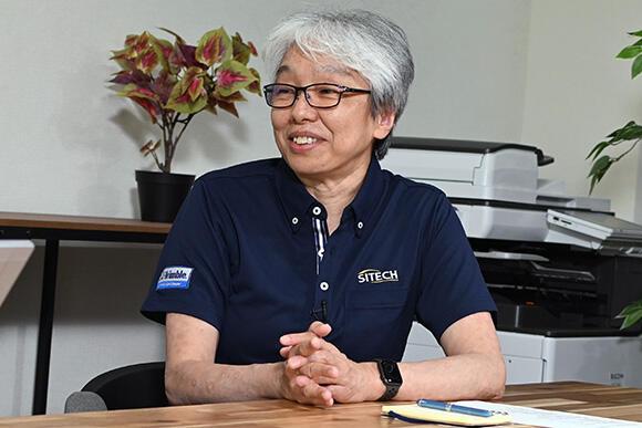 濵田文子さん(株式会社サイテックジャパン 取締役ゼネラルマネジャー)